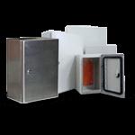 Eletro Metalúrgica: Caixas para montagens linha pesada GWE