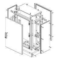 desenho montagem painéis modulares