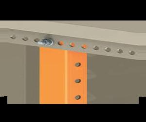 acessórios para painéis: perfil vertical